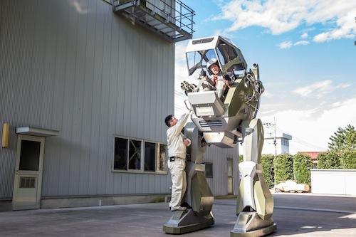 ガンダム世代歓喜まちがいなし!? 1日60万円でレンタルも可能な2足歩行ロボットに乗った