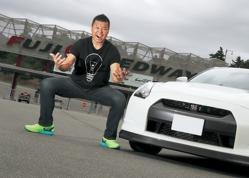 男気サーキット道場!? 小川直也が愛車のGT-Rでサーキットデビュー