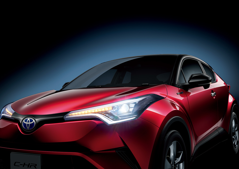 トヨタC-HRが2017年SUV新車販売台数第1位を獲得
