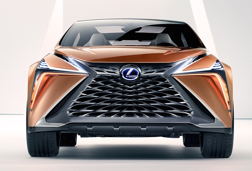 レクサスが「日本刀」をイメージした新型SUVコンセプトカーを発表