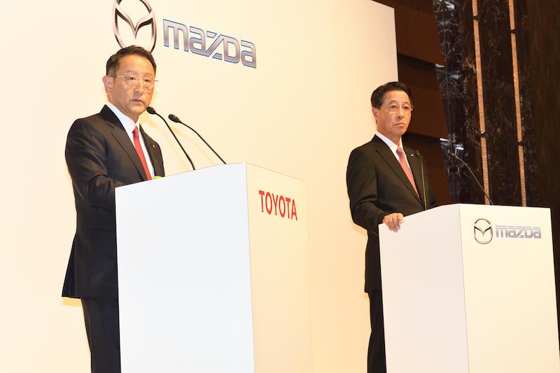 トヨタとマツダがアメリカに合弁会社設立!! 業務提携が本格化しそう