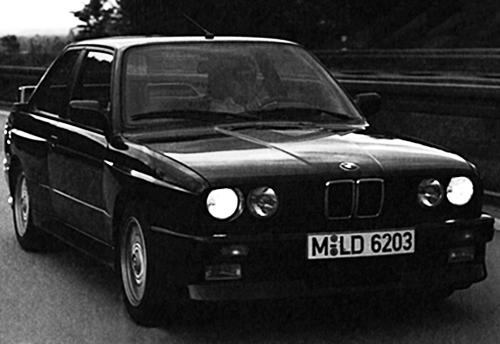 新たなBMW人気を獲得したホモロゲモデル BMW M3 【徳大寺有恒のリバイバル試乗記】