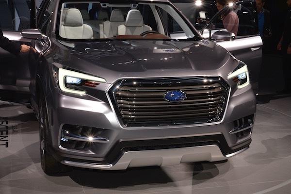 日本発売熱望! スバルの新型SUV アセント 新開発エンジンは大注目!!
