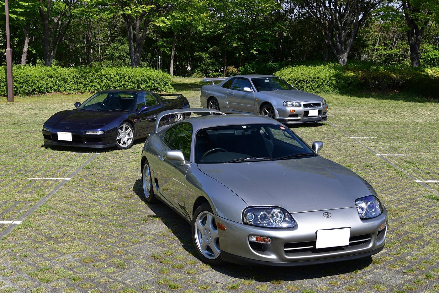 「憧れの名車」は今も輝いているか!? NSX、スープラ、GT-R連続試乗