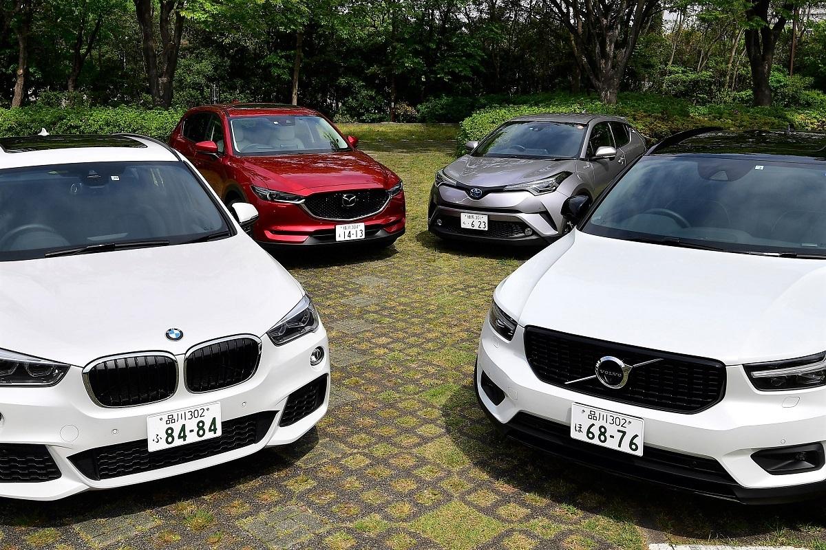 日欧強力モデルが勢揃い!! 小型&ミドルSUV 買い得度で選ぶベスト5
