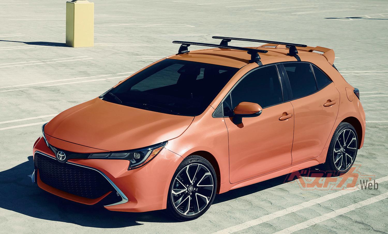 トヨタ新型カローラスポーツ(ジュネーブショー出品車に本誌が彩色)