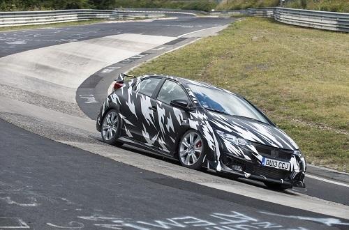 GT-Rも有名だが近年ではシビックタイプRもニュルを走りこんで当時のFF市販車最速記録を達成した