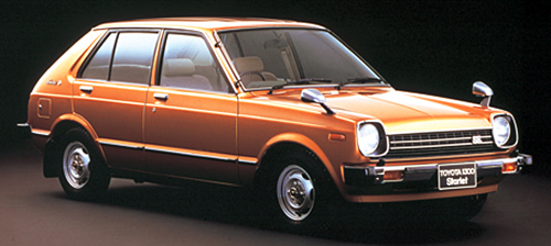 KP61を含む2代目スターレットは'78年登場。このなかでは唯一のFR