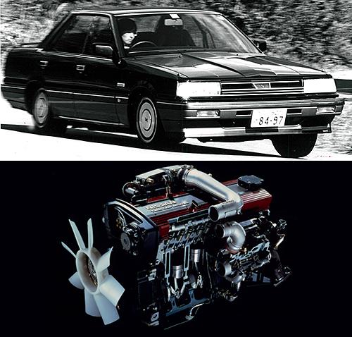 1965年以来のL20型に代わる日産期待の直6新エンジンとして登場したRBシリーズ。その頂点として鳴り物入りで'85年、R31スカイラインとともに登場した24バルブDOHCターボ仕様だが、煮詰め不足で……