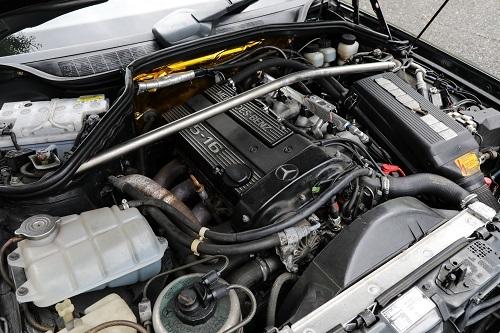 コスワース製のエンジンはまさに名機だ