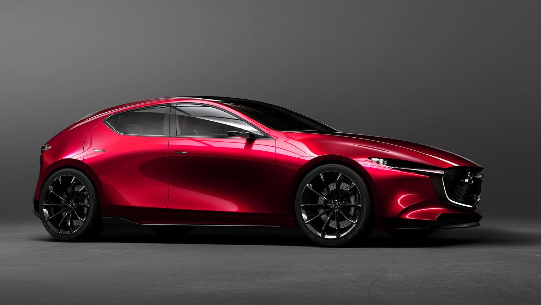 こちらも昨年の東京モーターショーで会場中の人気を集めたマツダのコンセプトカー「魁CONCEPT」