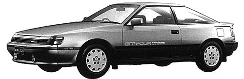 セリカ 2000GT-FOUR。当時の広告コピーは「流面形、発見さる。」だった