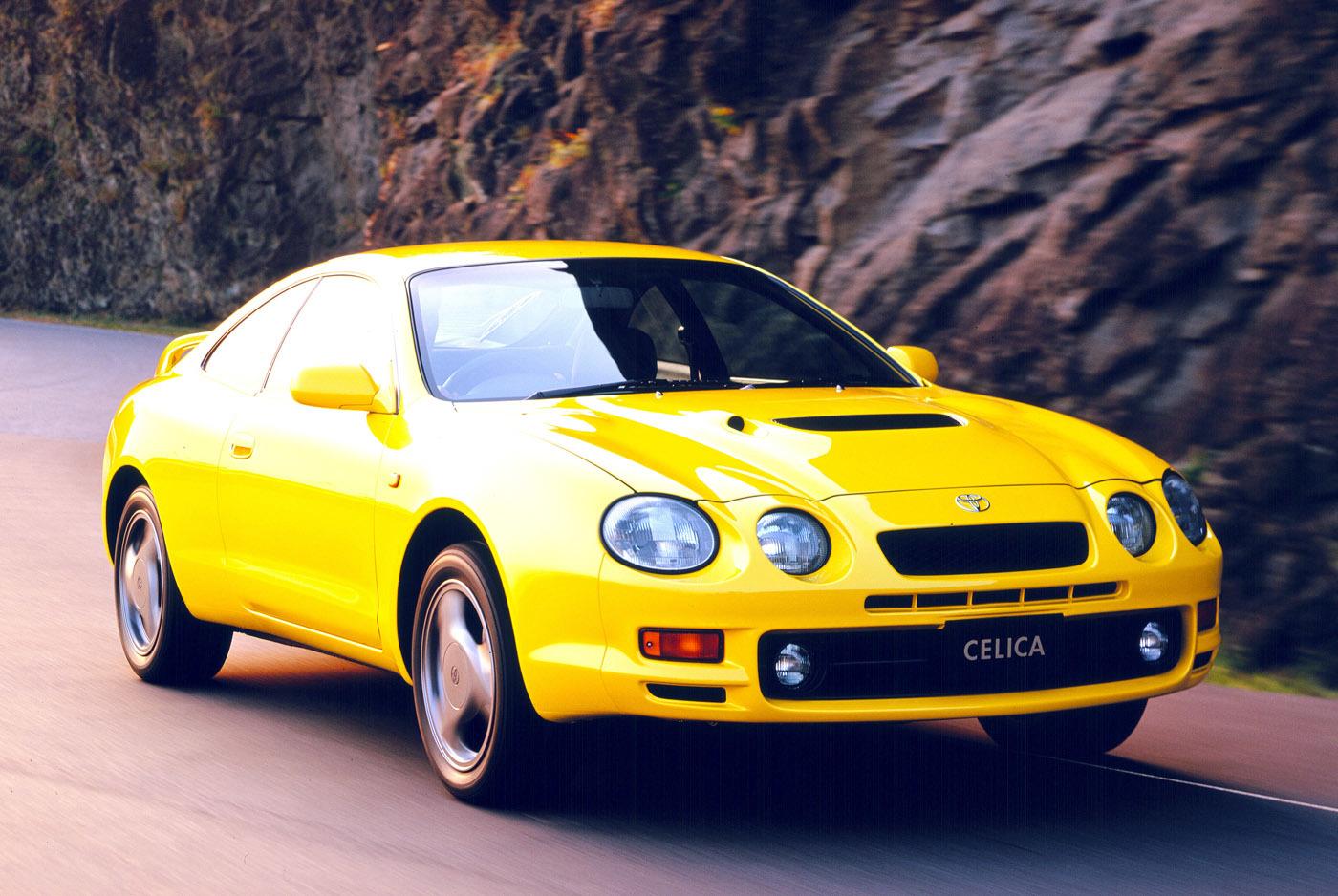 トヨタ・セリカGT-FOUR(ST205型は1994〜1999年)