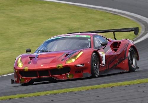 GT3マシンも超高額なフェラーリ。写真の488GT3は8000万円。高ッ!!