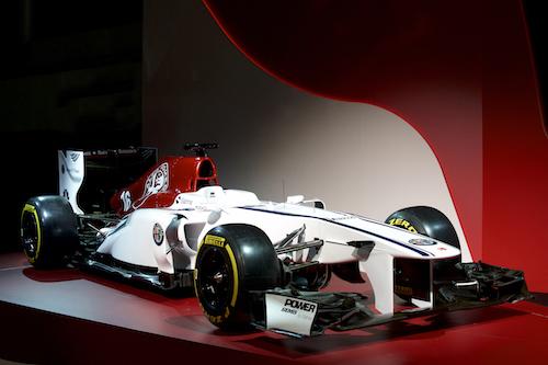 フェラーリの心臓を持つ、アルファロメオ・ザウバーの新カラーリング