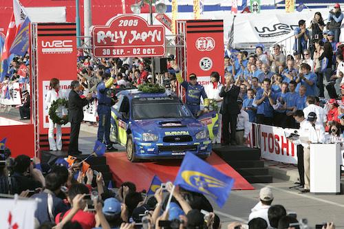 2004年から2010年まで開催されていたWRCラリー・ジャパンは北海道で開催された