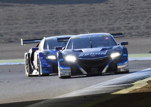 KEIHINのコンビは熟成が進んでいる。一発の速さとレースのペースを守ることが求められるGTではかなり強いタッグだ