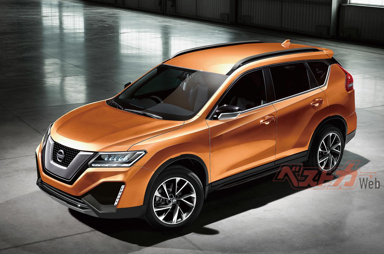 Nissan Clube: Computação gráfica do X-Trail 2019