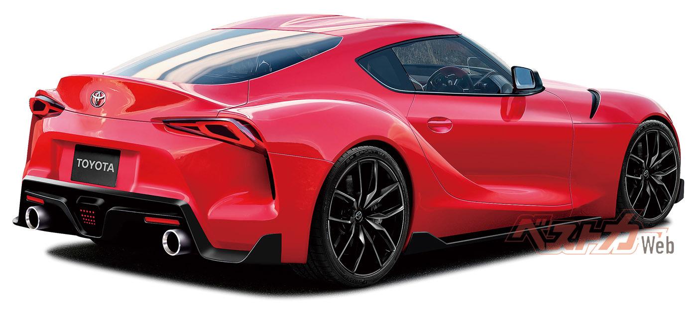 BMW製のB58T型直6、3ℓツインターボは同じエンジンのBMW340iの326psを上回る340ps