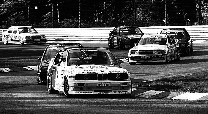 DTMでM3はメルセデスベンツの190E 2.3-16と激しく争い、ドイツのモータースポーツを牽引していくことになる