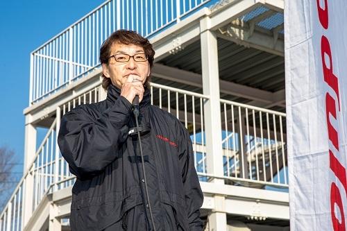 ModuloXの開発責任者の福田さん。理論派の開発者で、一見クールだけどすごく温かい人でもある