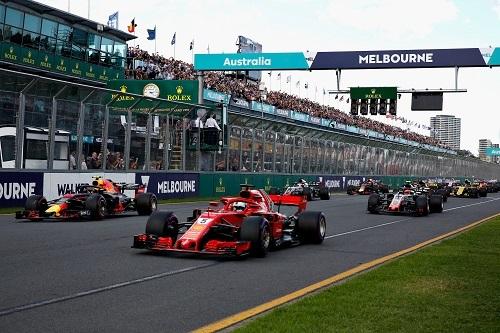 フェラーリ、レッドブルの背後に並んだのはハースの2台。決勝ではピット作業のイージーミスで入賞のチャンスを失ったが、ダークフォースとして中団グループで存在感を発揮した