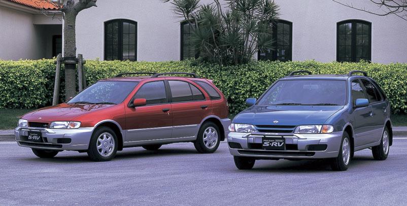 日産パルサー/3ドアHBに4ドアセダンそして5ドアワゴンと、さまざまなボディ形状を用意。なかにはオーテックがチューンした、ゴリゴリのモータースポーツベース車両も存在