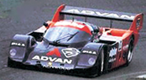1983年 グループC用 タイヤ開発