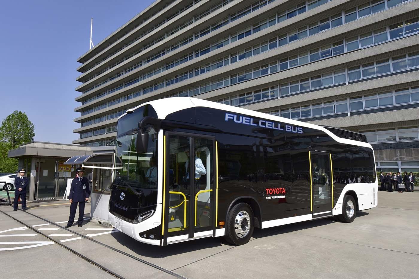 トヨタの燃料電池バス「SORA」